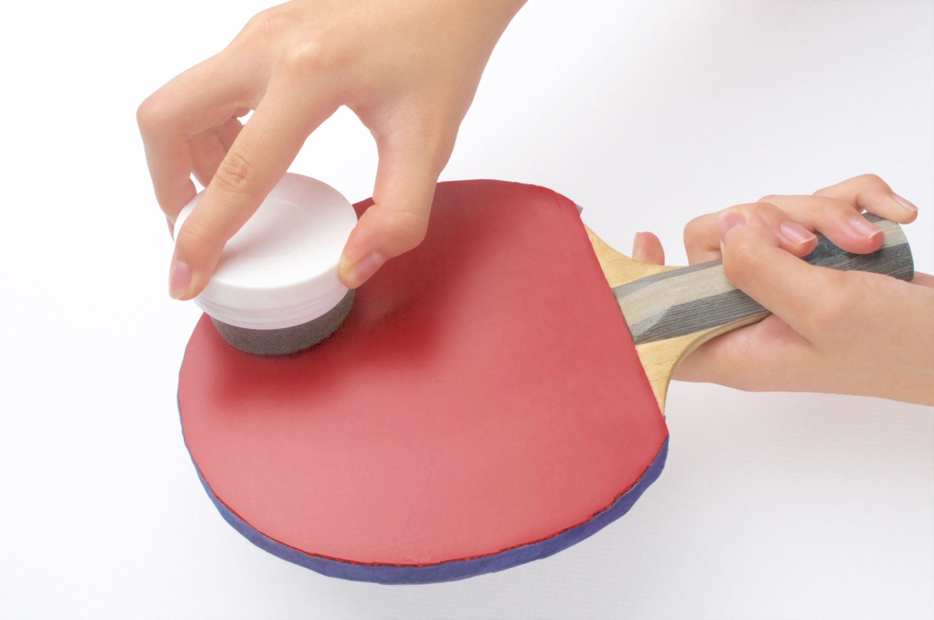 卓球ラバーの手入れ方法。簡単なメンテナンスと注意点。