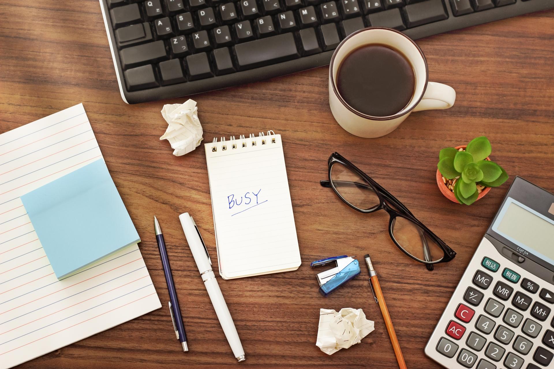 要領の悪い人の5つの特徴。すぐに実践できる改善方法で効率の良い仕事を