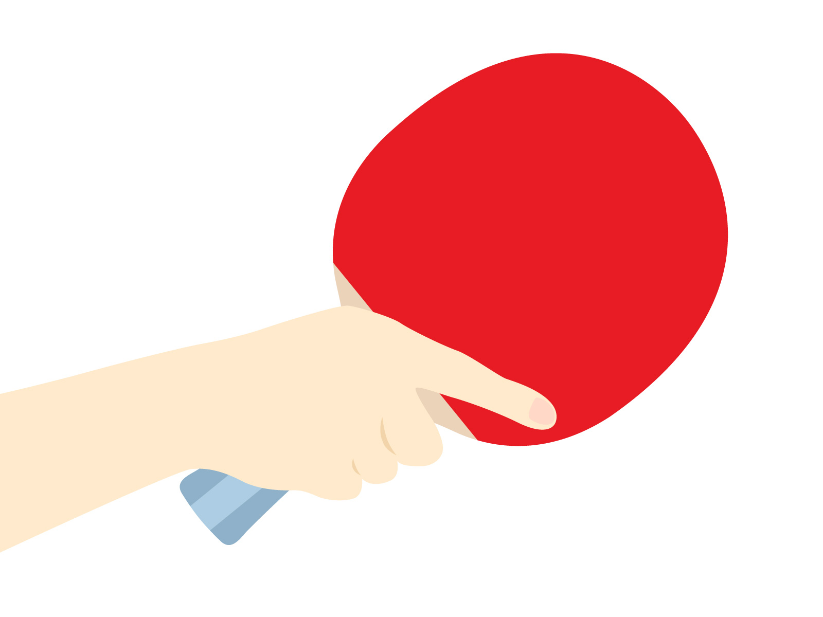 卓球ラケットの持ち方。シェークハンドとペンホルダーの違いと特徴。
