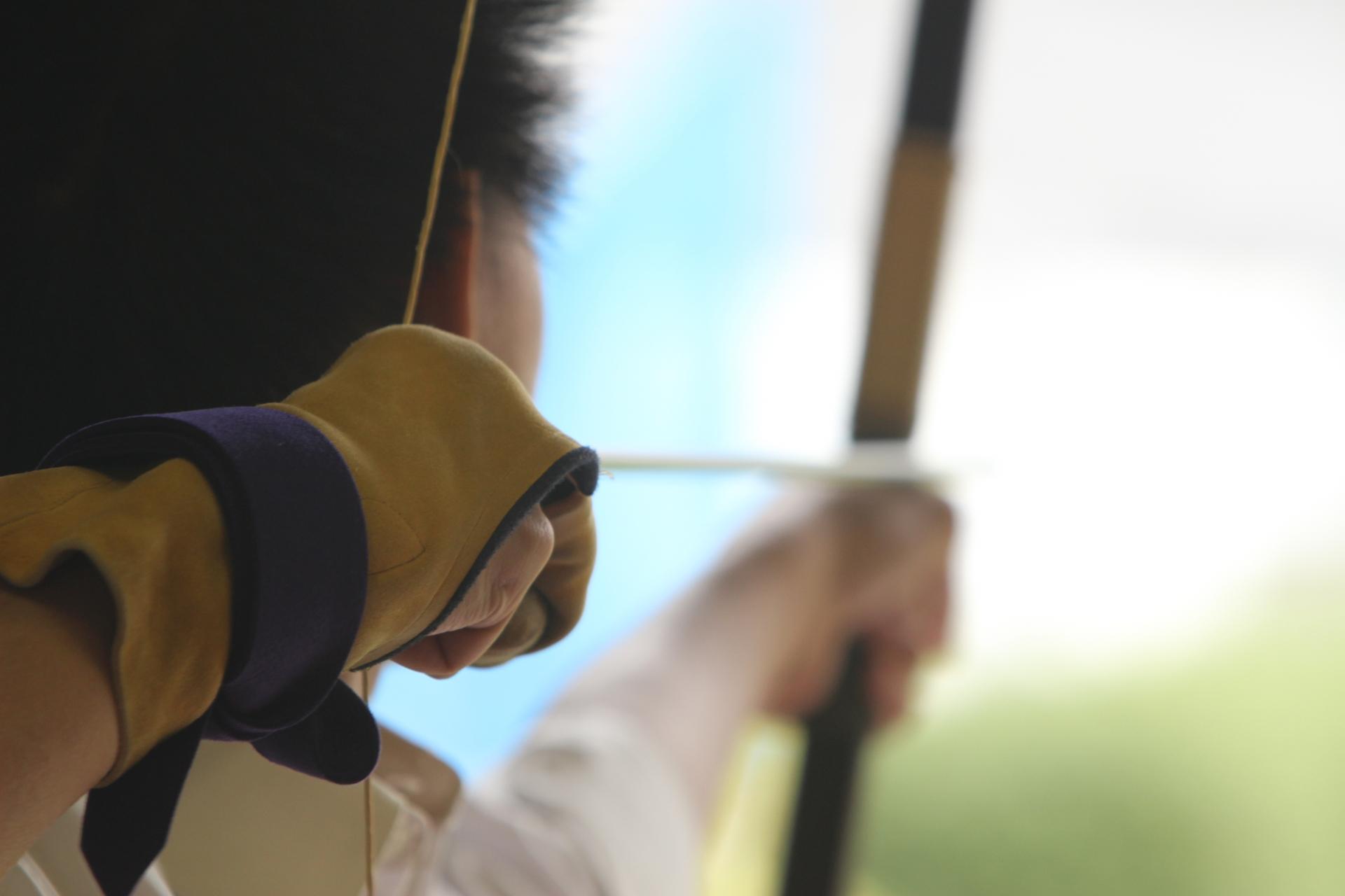 弓道の早気(はやけ)の原因とは?早気の克服方法をご紹介。