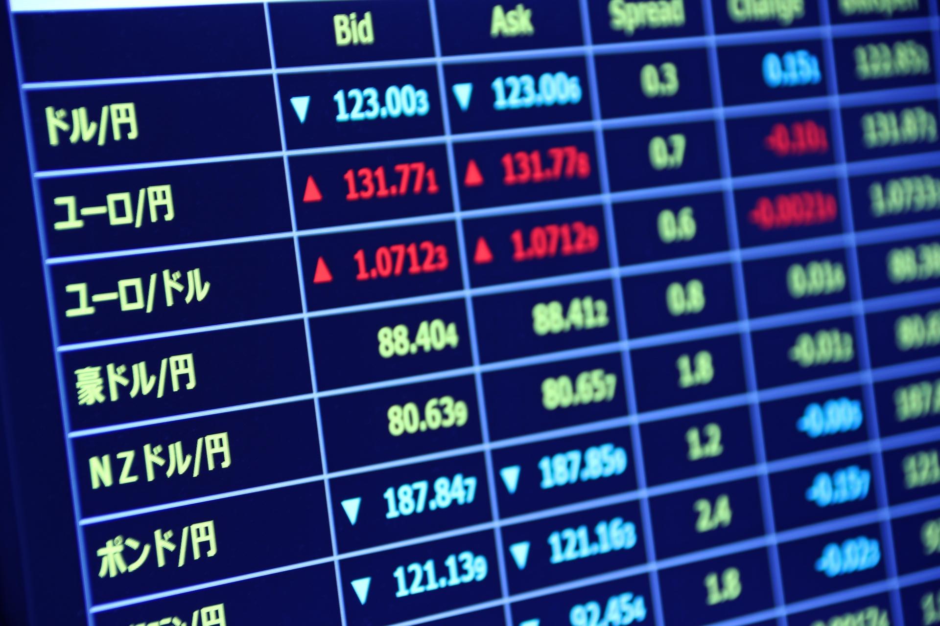 ユーロドル(EUR/USD)の特徴。値動きの傾向と取引する時の注意点。